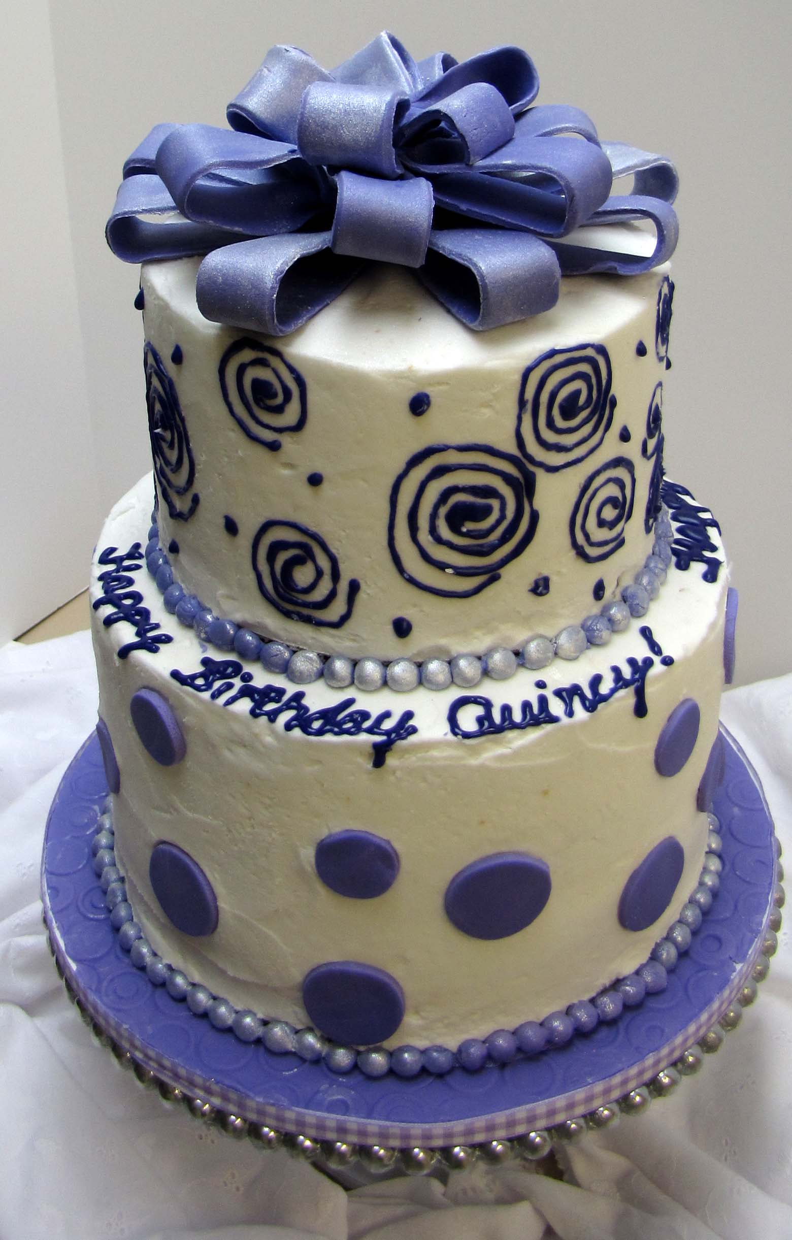 Purple Birthday Cake Sugar Mamas