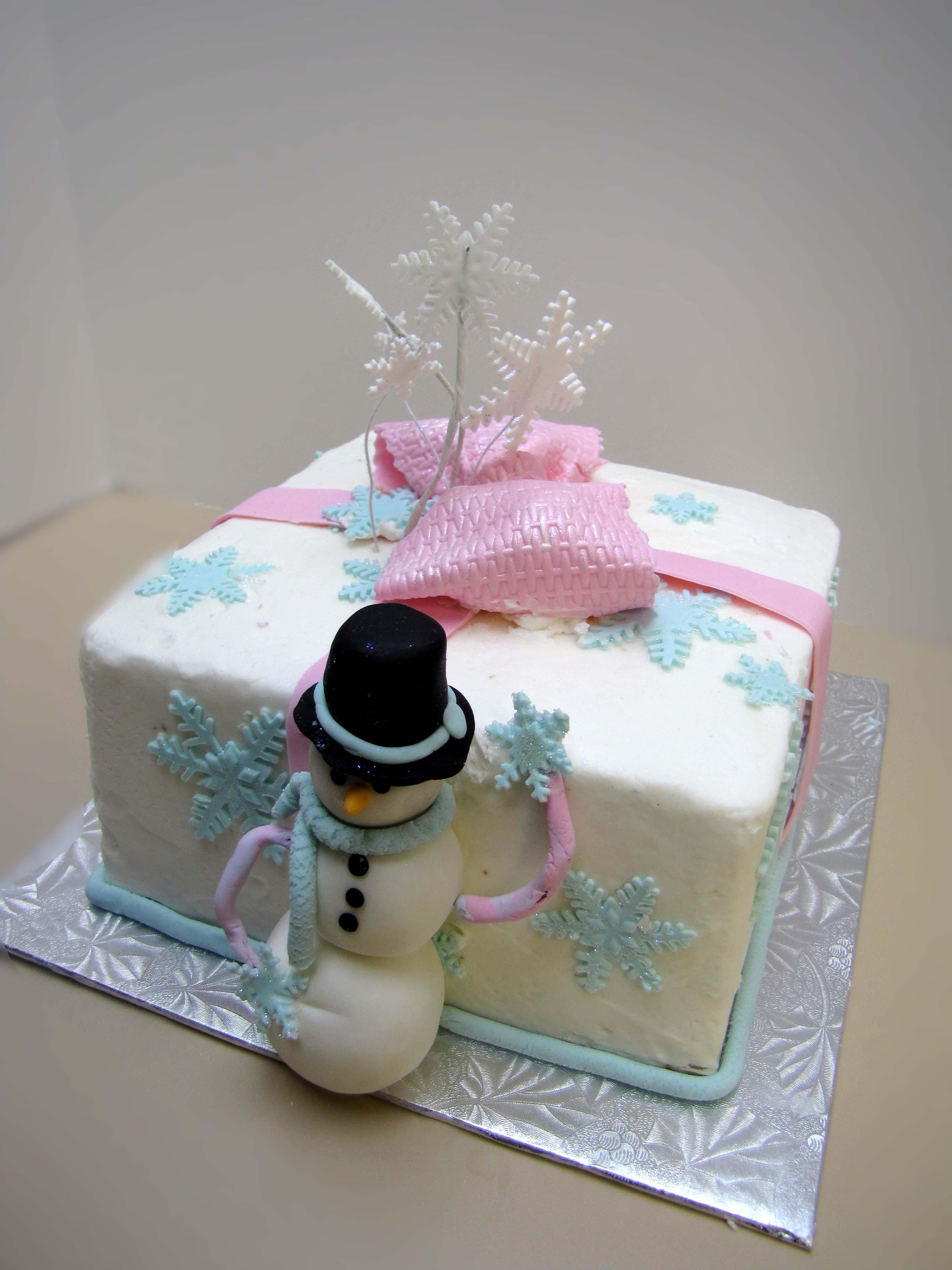 Super Snowman Cake Sugar Mamas Personalised Birthday Cards Veneteletsinfo