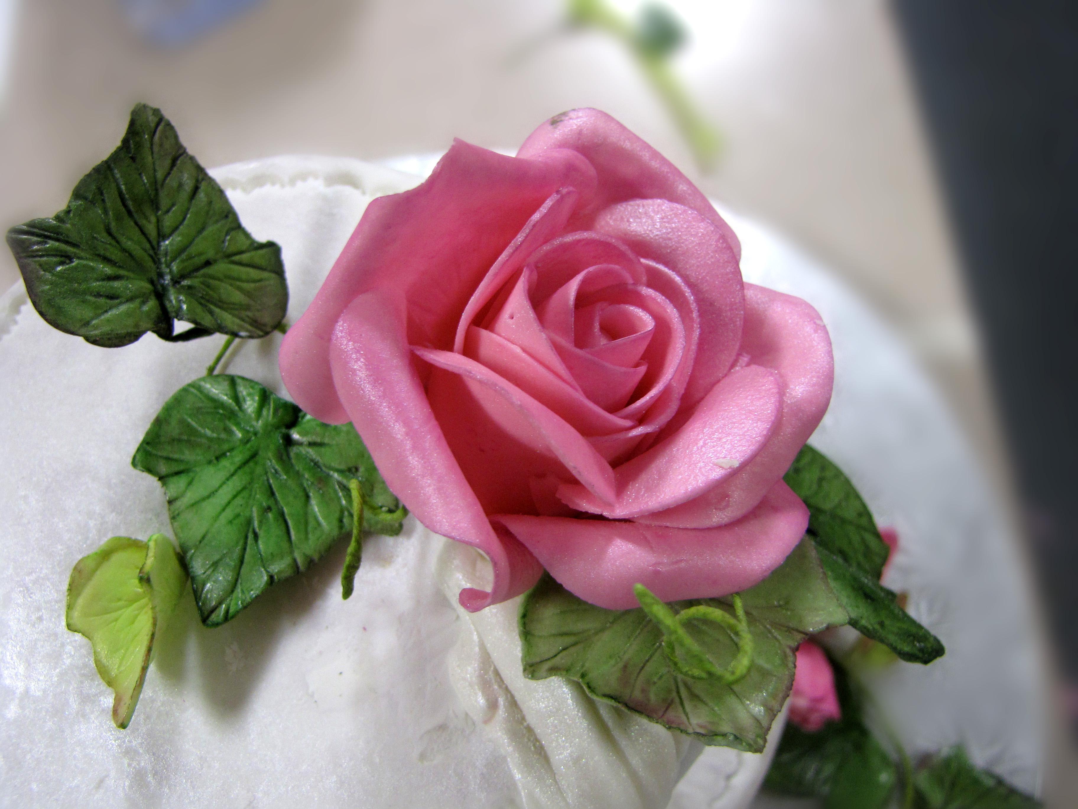 Сахарные цветы своими руками фото