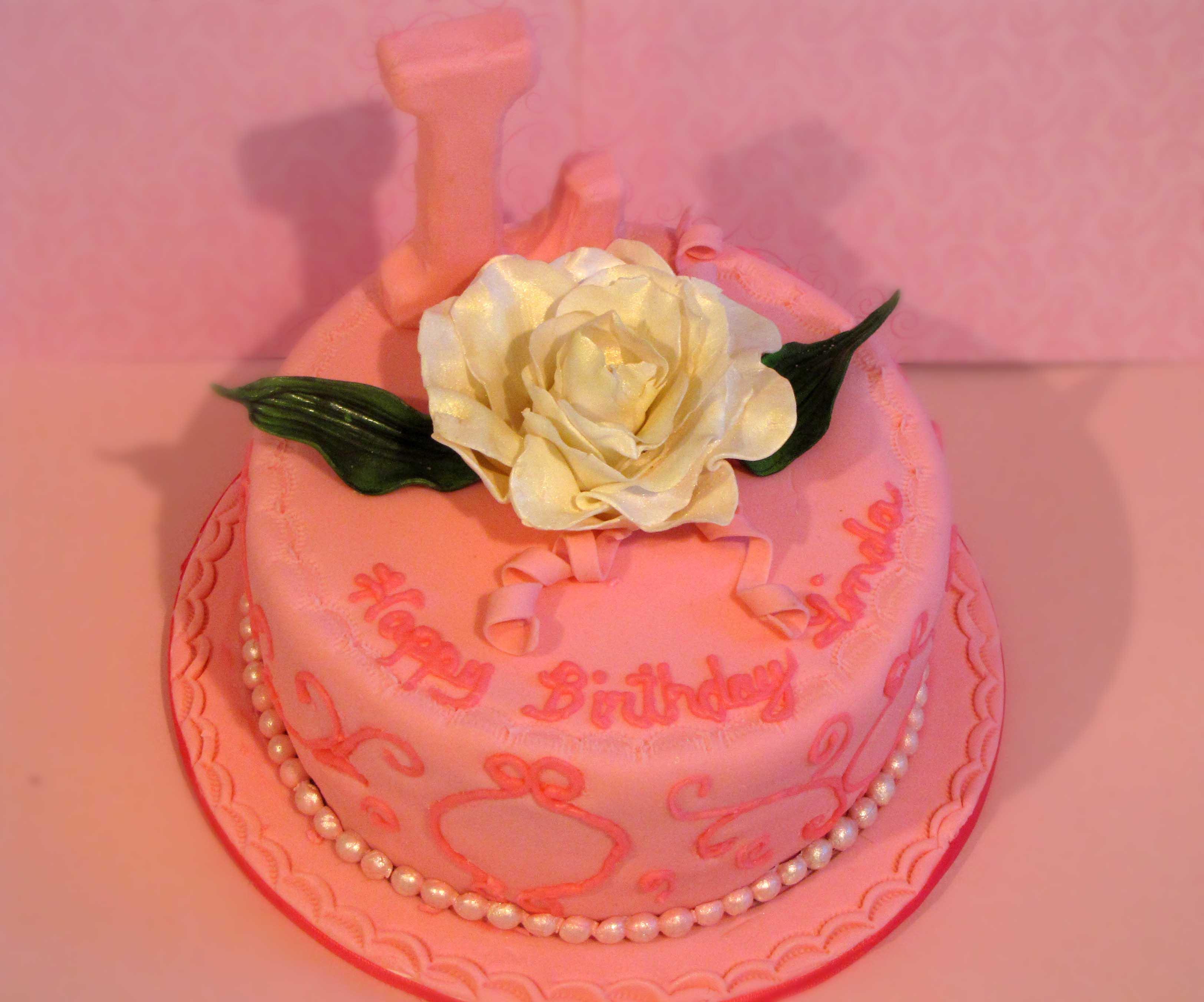 Pink On Pink Birthday Cake Sugar Mamas