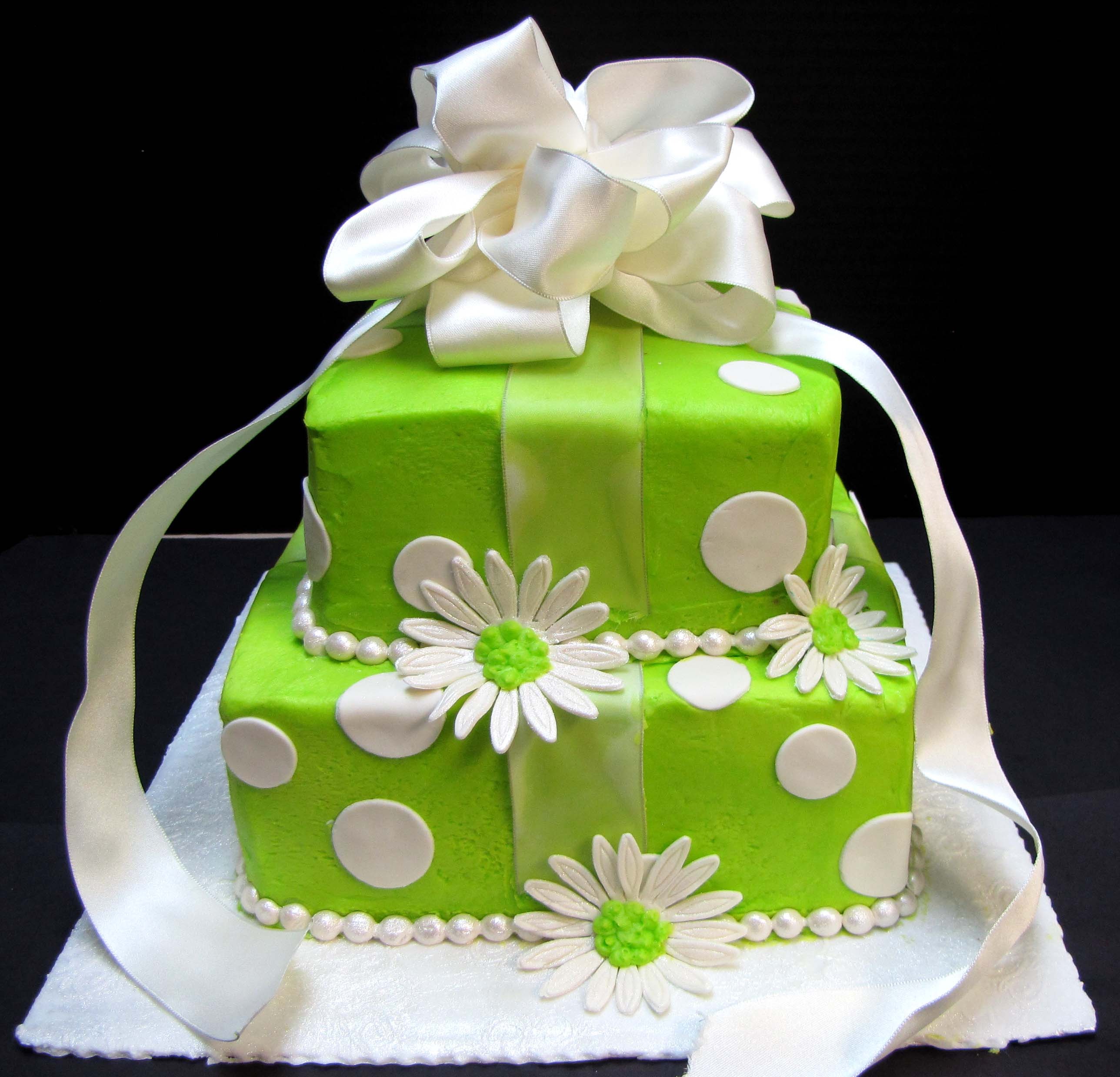 Lime Green Birthday Cake Sugar Mamas