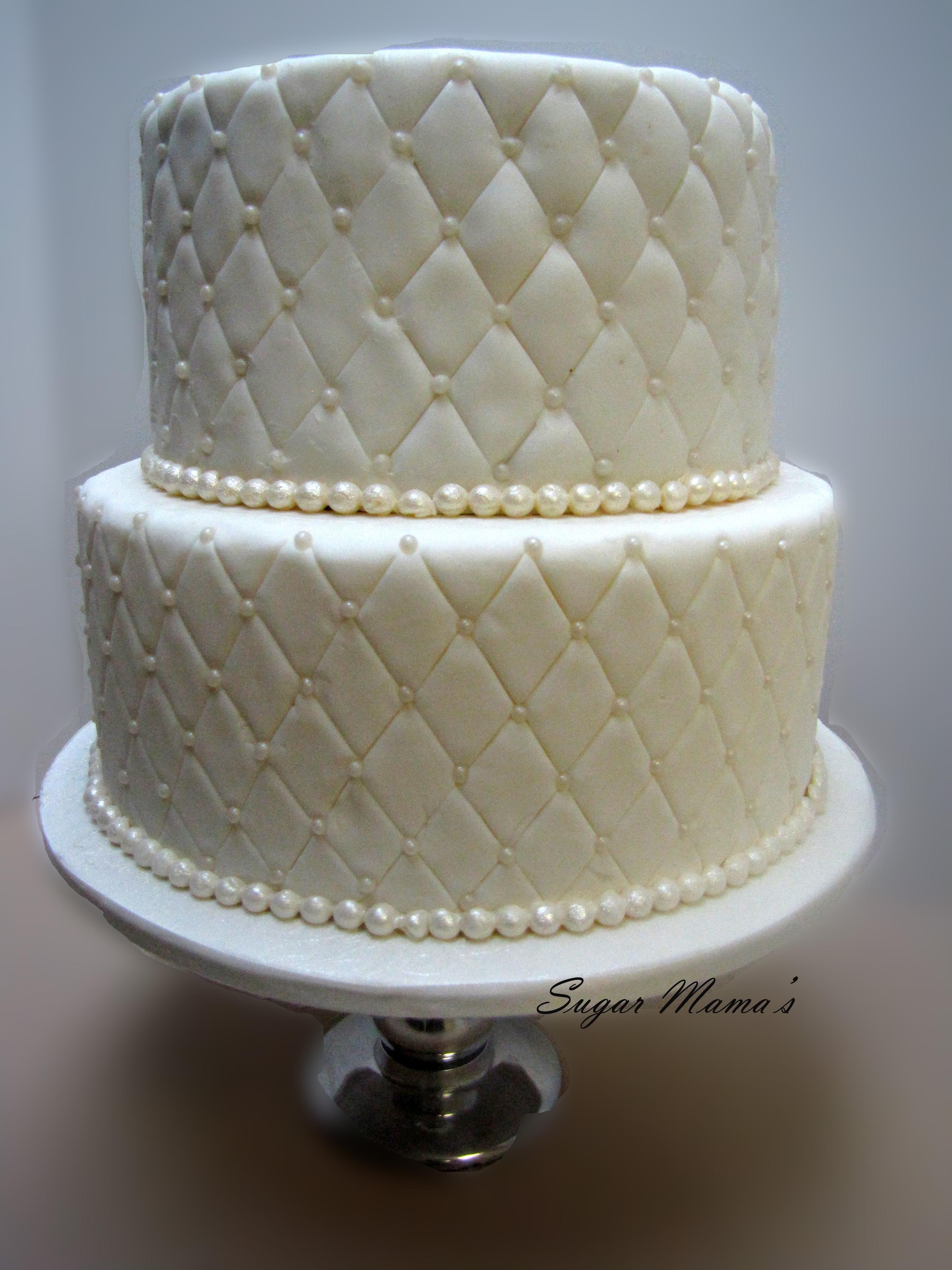 Dummy Wedding Cake Layers